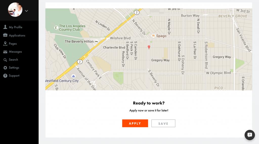 job details- map