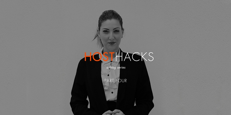 Host Hacks: Landing a Job Promotion