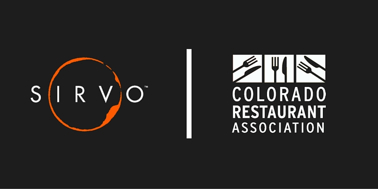 Sirvo and The Colorado Restaurant Association Join Forces