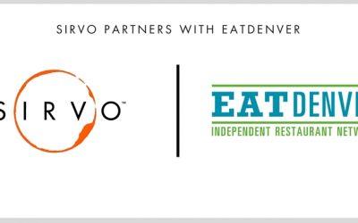 Sirvo Partners With EatDenver
