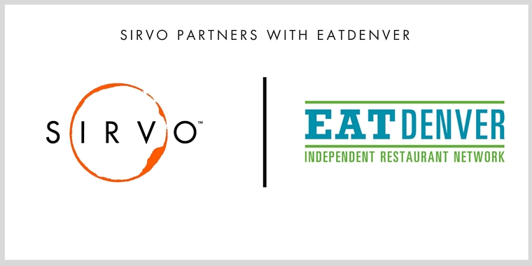Sirvo Partners With EatDenver