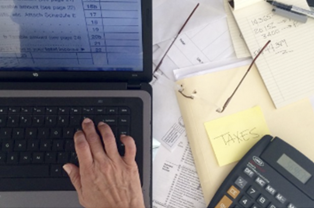 Business resources including tax forms and cost control templates