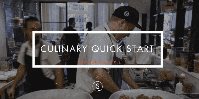 Culinary Quick Start Program: Learn to Work as a Cook for FREE