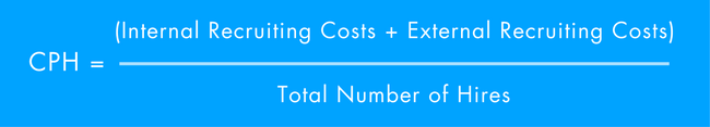 calculating cost per hire